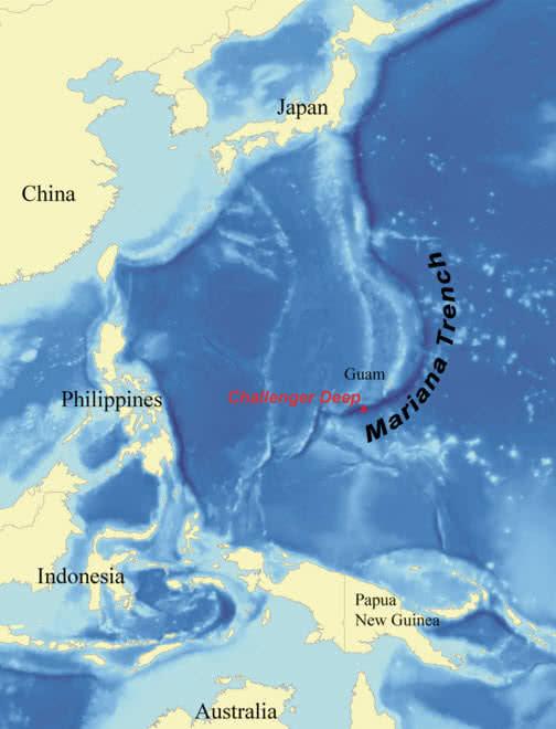 mariana trench - 7 مکان اسرار آمیز و ناشناخته زمین