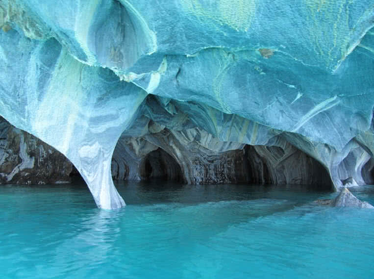 Ice caves, Chile