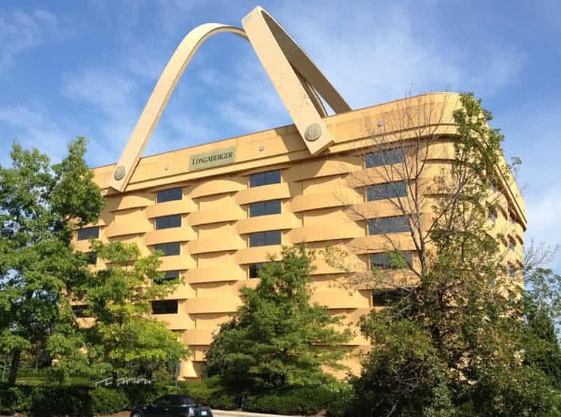 10 The Basket Building, Ohio, USA