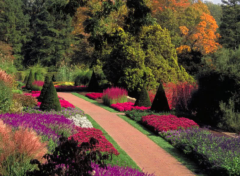 Beautiful Flower Gardens Of The World top 10 most beautiful gardens in the world - the mysterious world